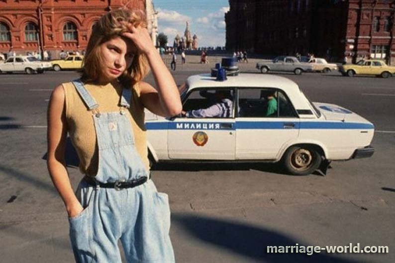 soviet prostitute and police